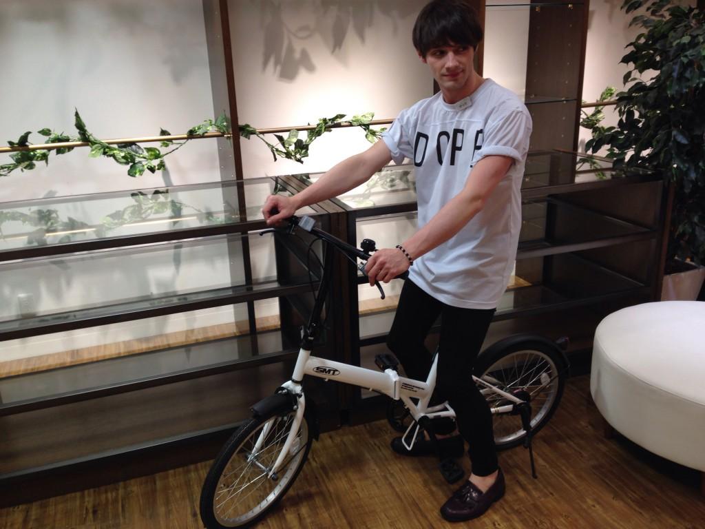 英会話カフェ千葉柏店自転車